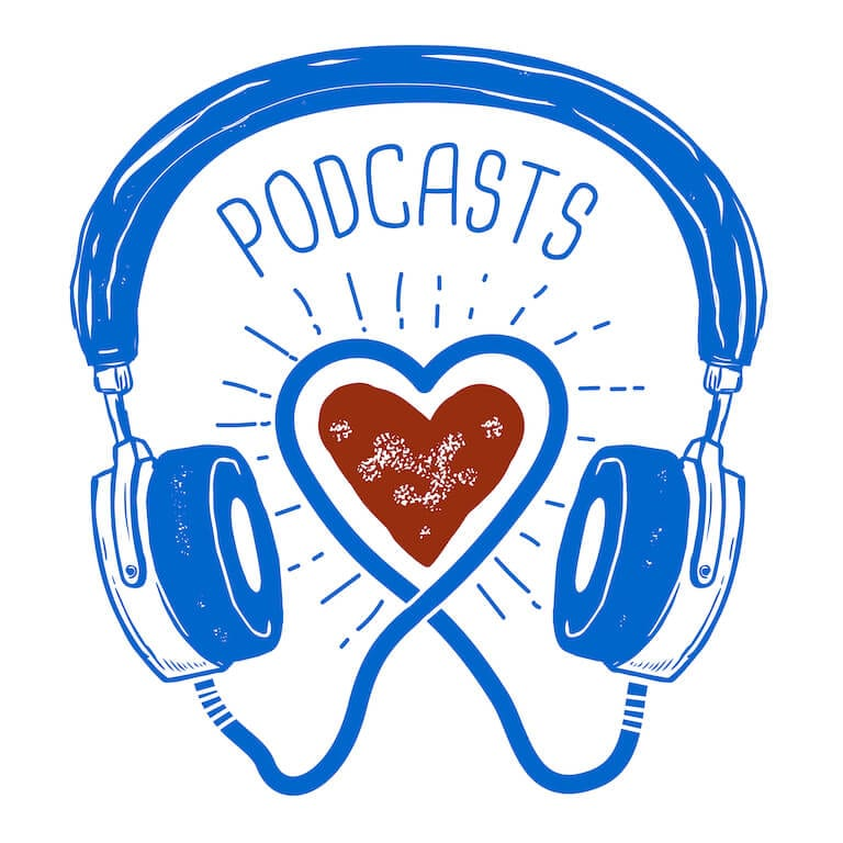 Podcasts about love, relationships, and friendship