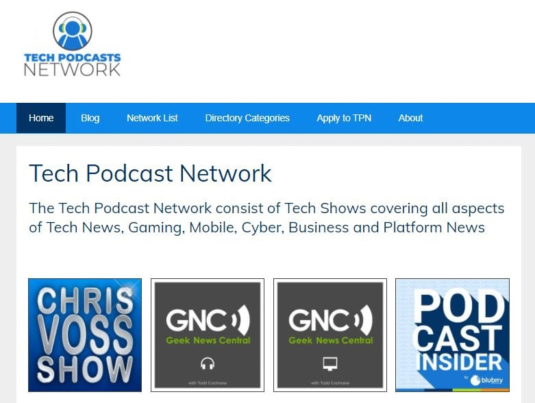 podcast network example
