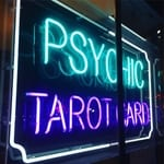 Psychic reading sign
