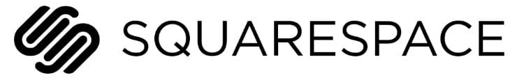 Logo for Squarespace web hosting company
